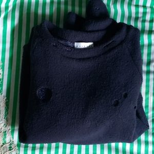 distress-holes-chic sweater from DRIFTER